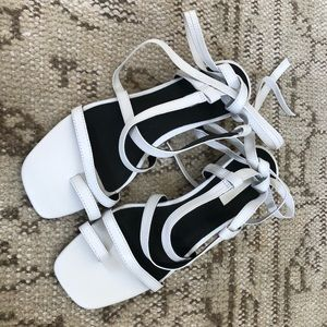 Topshop fable strappy sandals sz 6
